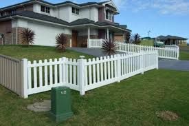 White Backyard Fence - white vinyl fence panels will beautify your living home netblr