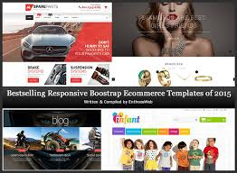 bestselling responsive bootstrap ecommerce templates of 2015 entheos