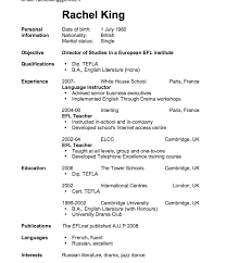 Sample Resume English Teacher by Download How To Write Cv Resume Haadyaooverbayresort Com