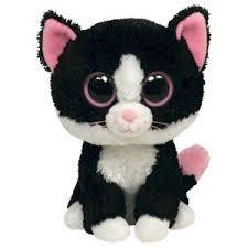 ty beanie boos pepper cat toy big eyes beamy boos