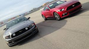 ford mustang gt shootout 2014 vs 2015 autoweek