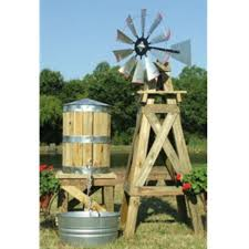 decorative windmill and water tower from usa scotts stuff to