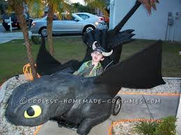 Toothless Halloween Costume Toothless Hiccup Wheelchair Costume
