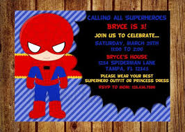the 25 best spiderman birthday invitations ideas on pinterest