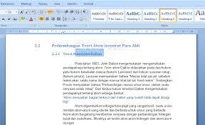 cara membuat daftar gambar word cara buat daftar isi daftar gambar dan daftar tabel otomatis pada