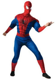Blue Man Halloween Costume Spider Man Costumes Halloweencostumes