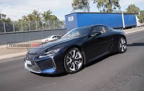 blue lexus new lexus lc 500 spotted on the streets in australia