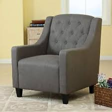 Ebay Armchair Canberra Grey Fabric Armchair U0026 Footstool Lounge Arm Tub Chair