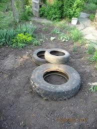 diy tire pond turns your backyard into an oasis