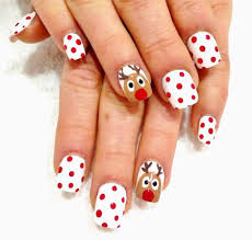 20 easy u0026 cute christmas nails art designs u0026 ideas 2016