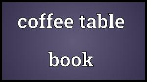 coffee table book meaning youtube