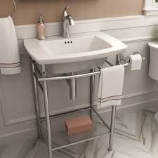 Contemporary Pedestal Sink Modern Pedestal Sinks Allmodern