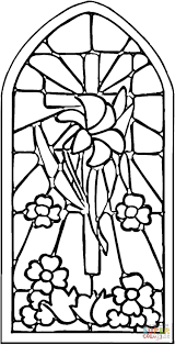 skillful stained glass coloring pages 21 stained glass coloring