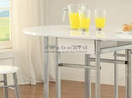 White Pub Table Set - marvellous white drop leaf table and chairs white drop leaf space