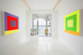 serious art lovers design homes around their collections wsj