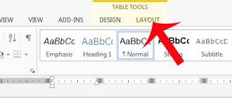 Table Cell Spacing How To Add Space Between Table Cells In Word 2013 Solve Your Tech