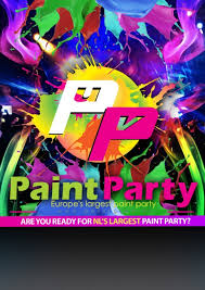 glow paint party party package 1 up to 100