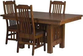 Mission Style Dining Room Set by Mission Dining Room Table Erik Organic