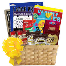 Soup Gift Baskets Puzzle Books Gift Basket Of Entertainment