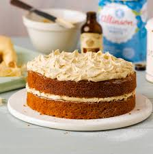 parsnip and ginger cake with ginger buttercream baking mad