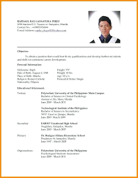 Graduate Application Resume Sample Resume For University Application College Application