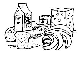 coloring page food relaaaxin u0027 pinterest meat products food