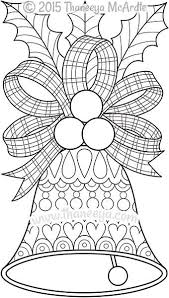 christmas color coloring pages