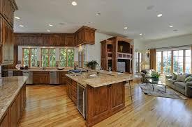 Open Kitchen Island Kitchen Beautiful Open Plan Kitchens Living Room Designs Open
