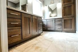 Espresso Bathroom Wall Cabinet Solid Wood Bathroom Wall Cabinet Acclaim Oak Mounted Storage In