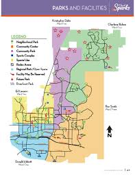parks map park map city of sparks