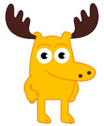 cartoon characters moose and zee