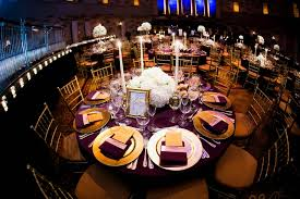 white gold and purple wedding gatsby inspired wedding with purple gold décor in new