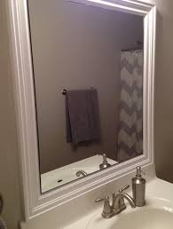 Bathroom Mirrors Brushed Nickel Brushed Nickel Bathroom Mirror House Decorations