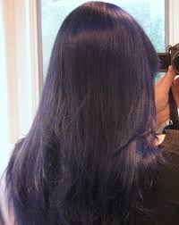 How Long To Wash Hair After Color - how to dye your hair purple or dark blue bellatory