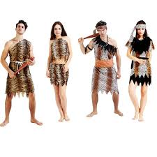 jungle caveman fancy costume age stag