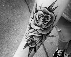 de tatuajes de rosas tatuajes de rosas negras significado y recopilación de diseños
