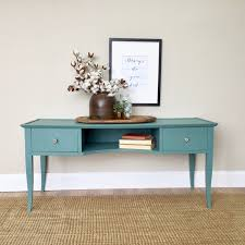 Turquoise Entry Table by Tv Media Console Teal Console Table Painted Furniture Behind