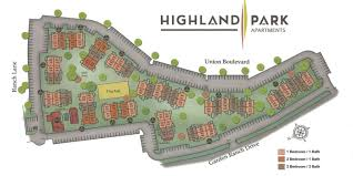 Colorado Springs Maps by Best Apartments In Colorado Springs Series U2013 Highland Park