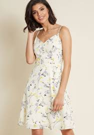 sun dress living lightheartedly sundress modcloth