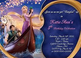 Personalized Birthday Invitation Cards Invitation Let U0027s Have A Party Pinterest Tangled Tangled