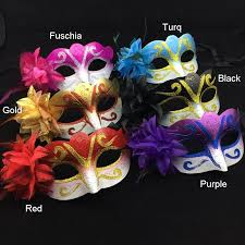 mardi gras masks for sale on sale party mask lateral flower gold venetian masquerade mask