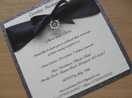 wedding invitations liverpool wedding invitation nautical themed glitter backed