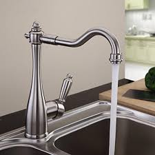 nickel brushed finish solid brass kitchen faucet faucetsuperdeal com