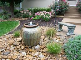 great backyard water fountain ideas 1000 images about fountains on