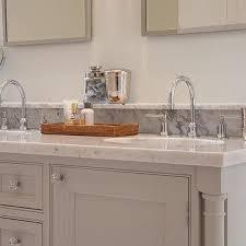 grey double vanity contemporary bathroom fiorella design
