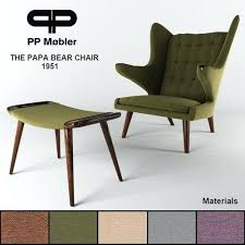 Ottoman With Chair Sophisticated Ottoman The Papa Chair And Ottoman Model