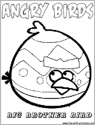 angry birds coloring page red bird red bird from angry birds