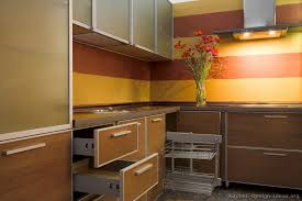 yellow and brown kitchen ideas pictures of kitchens modern medium wood kitchen cabinets