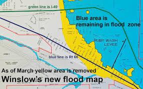 Fema Flood Maps Fema Finalizes Winslow U0027s Flood Plain Map Navajo Hopi Observer