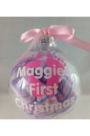 baby u0027s first christmas ornament by craftsbye on etsy 15 00